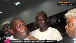 ''EVERYBODY IS AVOIDING ME'' -- ACTOR BABA SUWE LAMENTS