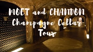 Inside the Moët & Chandon Champagne Cellars Tour in Epernay, Champagne