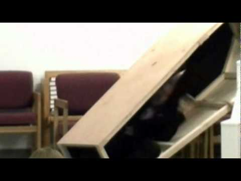 Funny Pastor Falls In Church Coffin Easter Service Says Oh Crap