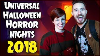 HALLOWEEN HORROR NIGHTS at Universal 2018
