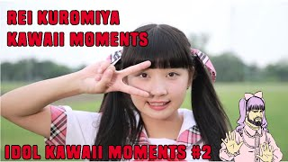 Rei kuromiya kawaii/cute moments [kawaii idol moments #2]