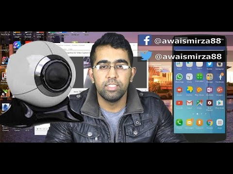 How to use mobile camera as webcam on pc 2016