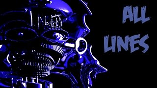 Ballora | All Voicelines with Subtitles | FNaF Sister Location