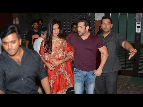 Xxx Mp4 Salman Khan With GIRLFRIEND Katrina Kaif At His Diwali Party 2017 3gp Sex