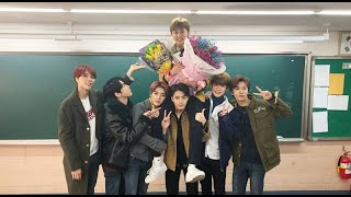 NCT Continues Cute Group Tradition At Mark's High School Graduation