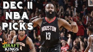12/11/18 NBA DraftKings Picks
