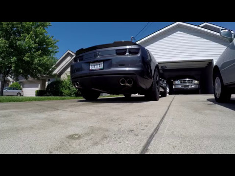 Night Fury Cam & Straight Pipes! | 2010 Camaro SS