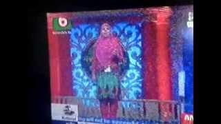 JANNATUL FERDAUS, Offs.Sec. of A.K.M.&M on Boishaki TV.