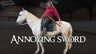 Knight Extras Part 8: Carrying a Medieval Sword on Horseback