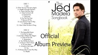 Jed Madela - The Jed Madela Songbook (Official Album Preview)