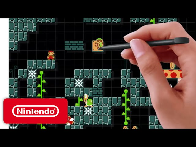 Super Mario Maker - 'Let's Watch!' Gameplay Overview