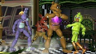SSBB Hack Battle - Freddy VS Bonnie VS Chica VS Foxy