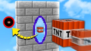 PORTAL GUN MOD in TNT WARS! | Minecraft MODDED TNT WARS