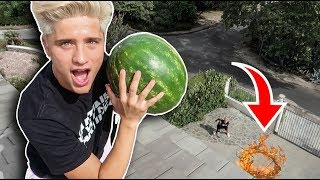 DROPPING WATERMELON FROM 35FT HIGH
