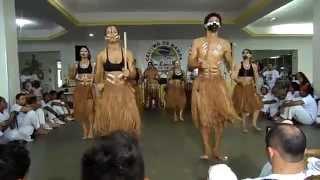 Apresentação de Maculelê e dança do Fogo na 2ª batucada Celeiro de Bamba Cordão de Ouro - Itabuna