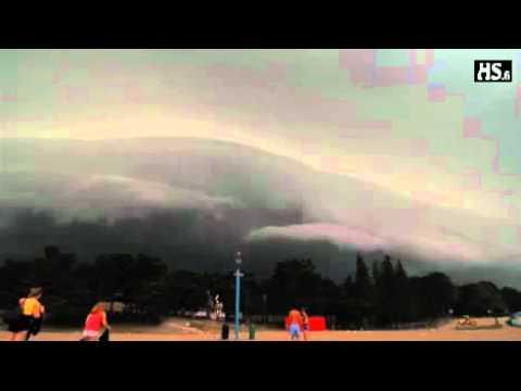 La tormenta mas diabólica jamás vista Finlandia