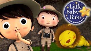 Going On A Lion Hunt | Nursery Rhymes | By LittleBabyBum!
