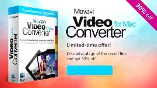 How to Convert Movies to MP4 on Mac | Movavi Video Converter for Mac (Get 30% OFF)