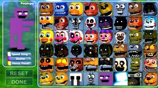 Five Nights at Freddy's: World Multiplayer All Animatronics UNLOCKED