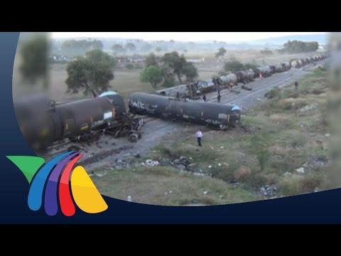 Tráiler vuela y cae sobre ferrocarril en Guanajuato Noticias de Guanajuato