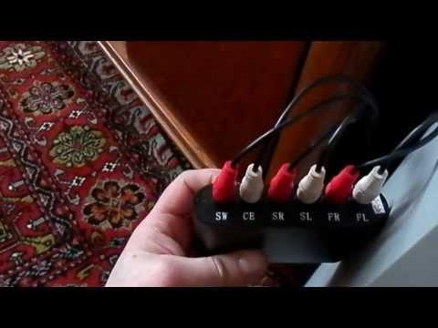 Декодер оптического звука в аналог 5.1 своими руками