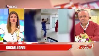 Skandal! Hastanenin yoğun bakımında göbek attılar