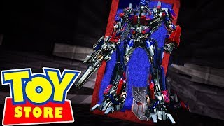 NEW TRANSFORMER TOYS AT THE STORE! - Minecraft Toy Store