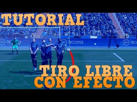 FIFA 16 TUTORIAL DEFINITIVO TIRO LIBRE CON EFECTO