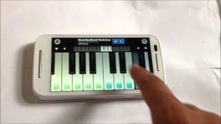 Tum hi ho - Aashiqui 2 on mobile piano