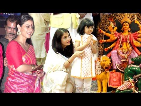 All Bollywood Celebs Durga Pooja 2016 Full Video HD - Kajol,Aishwarya Rai,Amitabh,Alia Bhatt