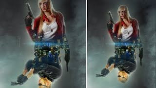 movie poster design fighters  | photoshop manipulation tutorial cs6/cc