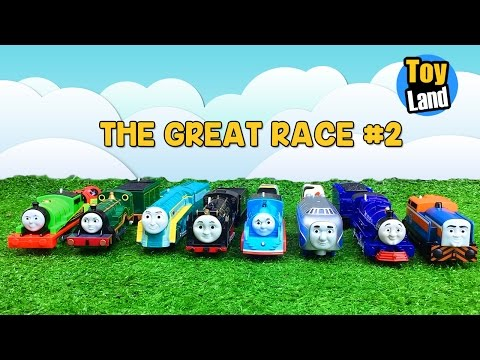 THE GREAT RACE 2 Thomas and Friends TRACKMASTER