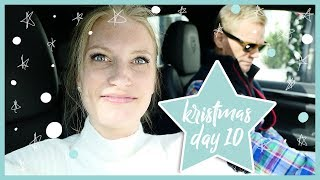 KRISTMAS DAY 10 | NORWEGIAN SHOPPING WITH MY DAD