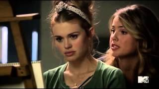Teen Wolf S04E05 Malia & Lydia Scene