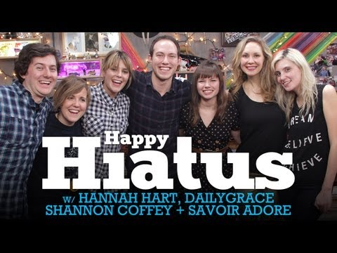 Let's PARTY Live w/ DailyGrace, Beth in Show, Hannah Hart, & CoffeyChat - (FIXED) 1/16/13