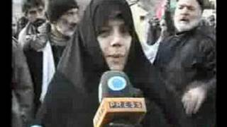 Iranians Protesting For The Palestinian Brothers & Sisters!!