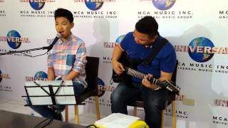 SPINNR LIVE: Darren Espanto by Request - All Of Me