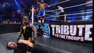 The Shield vs. Rey Mysterio & The Usos: Tribute to the Troops 2013