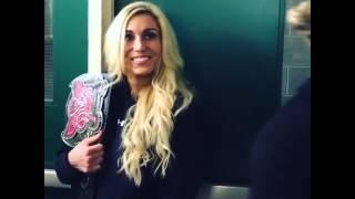 WWE Charlotte & Dolph Ziggler Backstage