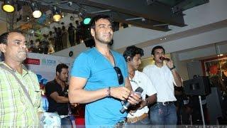 Ajay Devgan at Promotion of movie Toonpur Ka Super Hero at oberoi mall Mumbai
