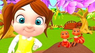 Ants Go Marching | Counting Songs | Baby Nursery Rhymes & Kids Song Collection by Little Treehouse