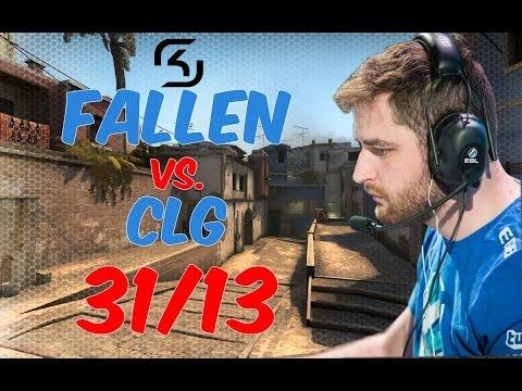 FalleN |SK| POV 1440p@60fps | 31/13 vs. CLG | de_mirage