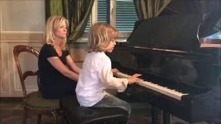 Elijah 6 anni suona di Prokofiev tarantella