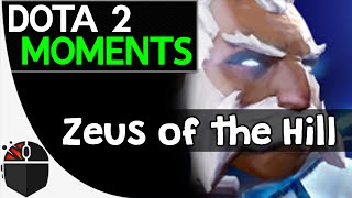 Dota 2 Moments - Zeus of the Hill