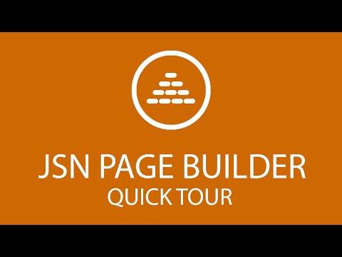 Jsn Pagebuilder Quick Tour