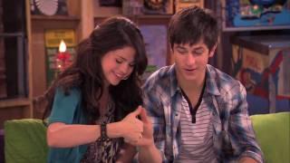 David Henrie and Selena Gomez