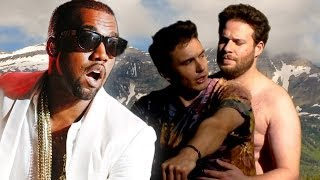 Kanye West Reacts To Seth Rogen and James Franco Bound 2 Parody