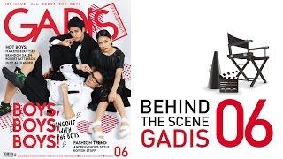 Behind The Scene: Brandon Nicholas, Maxime Bouttier & Aura for GADISmagz 06/2015