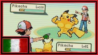 Ash vs Red Pokémon Battle - Gumbino | DOPPIAGGIO ITA