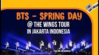 BTS - Spring Day @ The Wings Tour In Jakarta, Indonesia